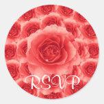 Roses RSVP Sticker