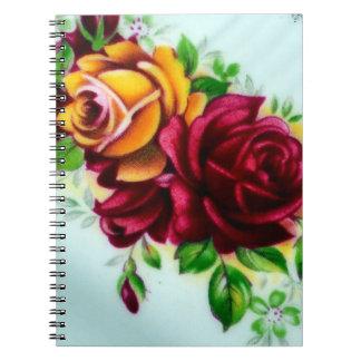 Roses Spiral Notebooks