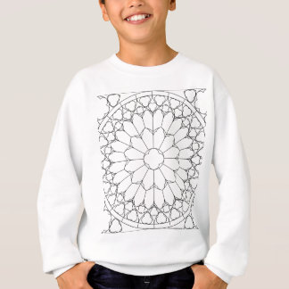 Roses Stained Glass Sweatshirt