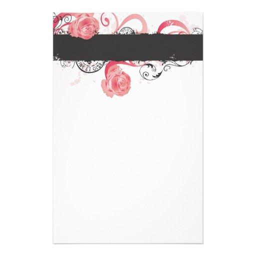 Roses Stationery