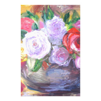 Roses Customized Stationery