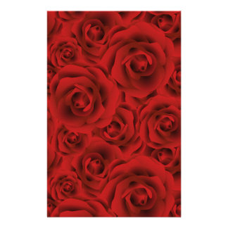 Roses Stationery Paper