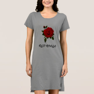 Roses t-shirt dress