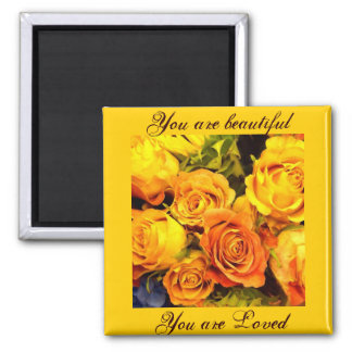 Roses,Touch of Class_ Magnet