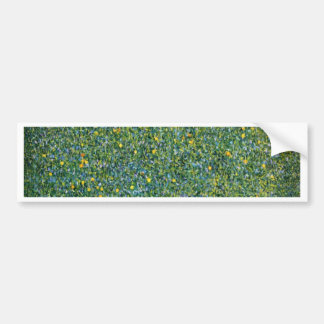Roses under the Trees Cute Bumper Sticker
