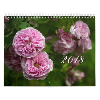 Roses Wall Calendar