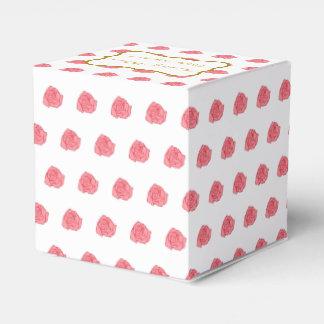 Roses Wedding Favor Box