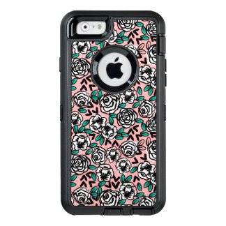 Roses White/Pink Love Floral Flower /Andrea Lauren OtterBox iPhone 6/6s Case
