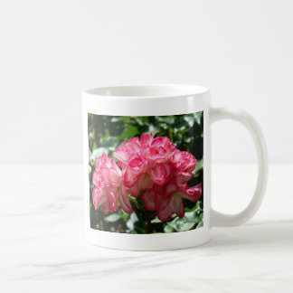 ROSES White Pink Rose Flowers 2 Cards Gifts Mugs