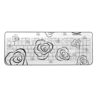 Roses Wireless Keyboard