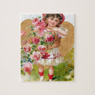 roses with baskets puzzles