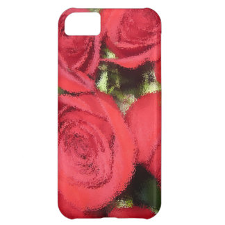 Roses with dry brush II.jpg iPhone 5C Case