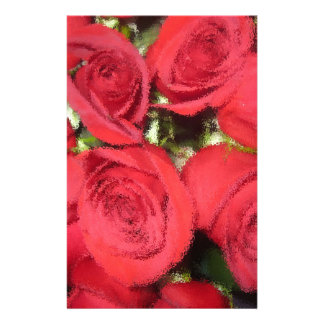 Roses with dry brush II.jpg Stationery Paper