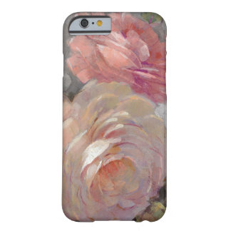 Roses with Gray Barely There iPhone 6 Case
