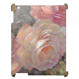 Roses with Gray iPad Cases