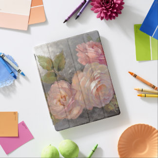 Roses with Gray iPad Cover