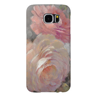Roses with Gray Samsung Galaxy S6 Cases
