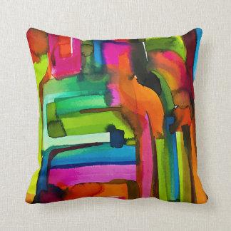 Rosetta 631 Art Throw Pillow