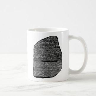 Rosetta stone coffee mug