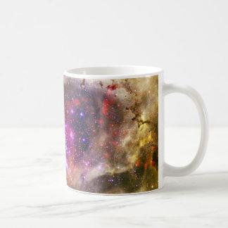Rosette Nebula Caldwell 49 The Heart of a Rose Basic White Mug