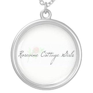 Rosevine Cottage Girls Cut Rose Necklace