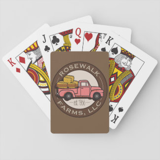 Rosewalk Farms playing cards