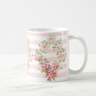 Rosewitha peony stripe Mug