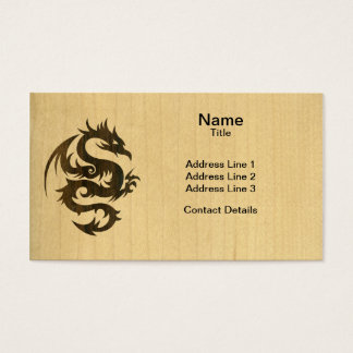 Rosewood Dragon Business Card