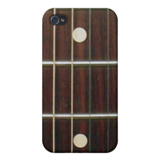 Rosewood Guitar Neck for iPhone iPhone 4 Covers