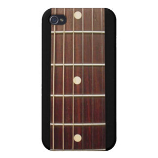 Rosewood Guitar Neck for iPhone seven frets iPhone 4 Covers