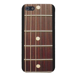 Rosewood Guitar Neck for iPhone seven frets iPhone 5 Cases