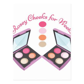 Rosey Cheeks Postcard