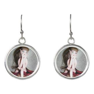 Rosey Fairy Earrings