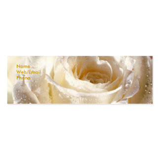 Rosey Profile card Business Card Templates