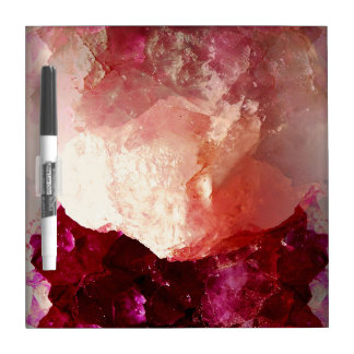 Rosey Quartz Dry Erase Board