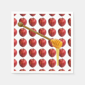Rosh Hashanah Apples & Honey Disposable Napkins