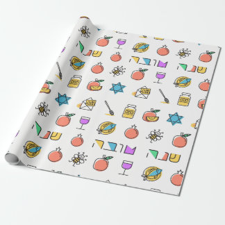Rosh Hashanah Gift Wrapping Paper