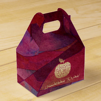 Rosh Hashanah   Jewish New Year Feast Favor Box