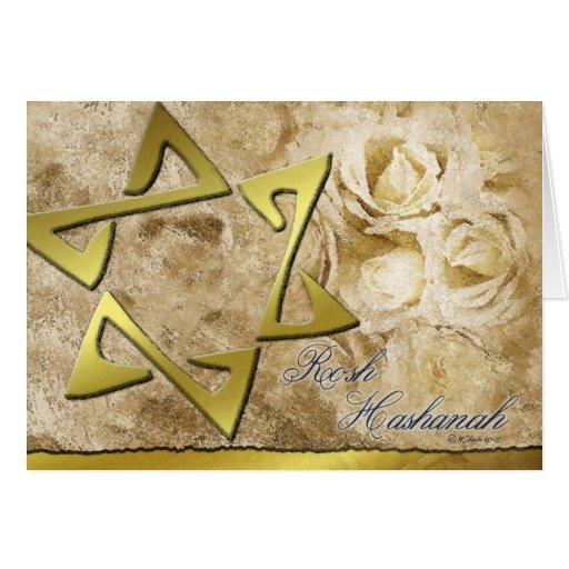 Rosh Hashanah-StarofDavid Greeting Cards