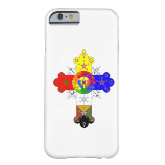 Rosicrucian Rose Cross Lamen iPhone 6 case Barely There iPhone 6 Case