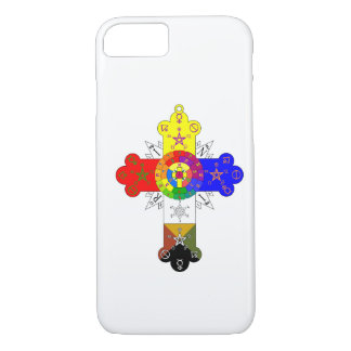 Rosicrucian Rose Cross Lamen iPhone 7 case