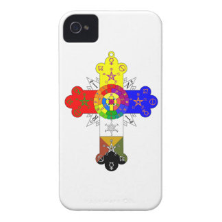Rosicrucian Rose Cross Lamen iPhone Case