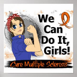 Rosie Anime WCDI Multiple Sclerosis Print