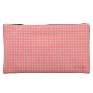 Rosie_ Fabric(c) REV-Design-Sueded Med Cosmetic Bag