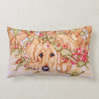 """""""Rosie"""" Labrador pup pillow"""