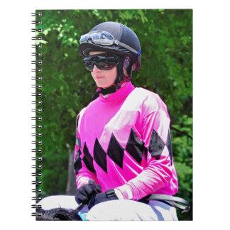 "Rosie Napravnik  ""Leading Female Rider"" Notebook"