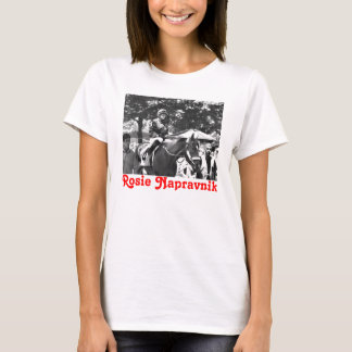 "Rosie Napravnik  ""Leading Female Rider"" T-Shirt"