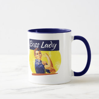 Rosie Riveter Boss Lady Mug