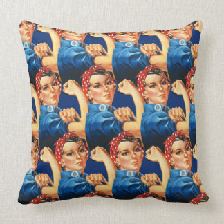 Rosie Riveter TP Cushion