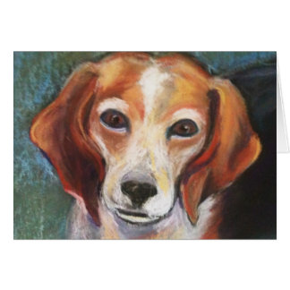 Rosie the Beagle Card